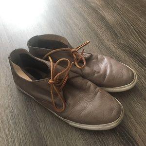 FRYE leather sneakers 8